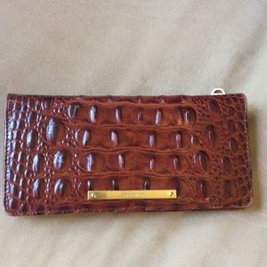 Brahmin pecan wallet